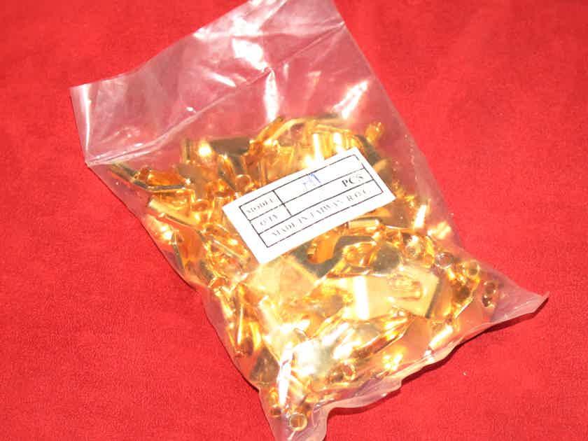 Harmonic Technology Generic Med / LG Nice Gold Speaker Spades (100)