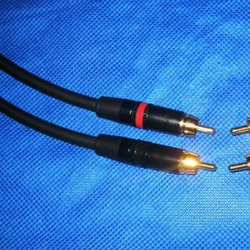 10 Audio Mogami RCA 2 meter pair