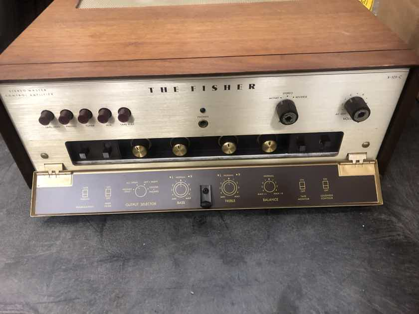 Fisher X-101c in Working Condition