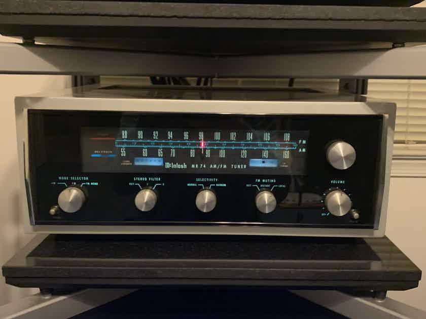 McIntosh MR74 Tuner, Terry DeWick tuned