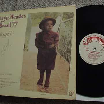 Sergio Mendes and Brasill 77 vintage 74 promo lp record...