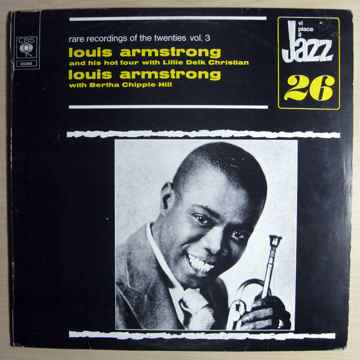 Louis Armstrong And His Hot Four - w/ Lillie Delk Chris...