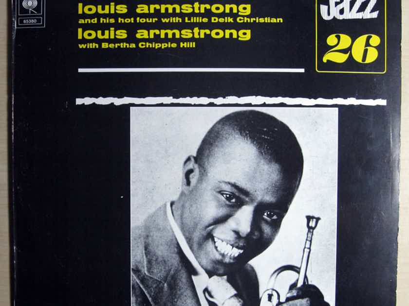 "Louis Armstrong And His Hot Four - w/ Lillie Delk Christian / Bertha ""Chippie"" Hill - Rare Recordings Of The Twenties Vol. 3 1973 CBS 65380"