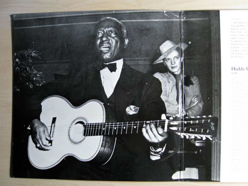 Various ‎Artists - A Tribute To Leadbelly - 1977 Tomato TOM-2-7003