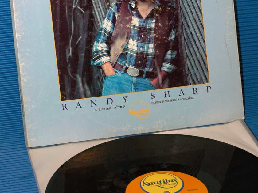 """RANDY SHARP   - """"First In Line"""" -  Nautilus Direct to Disk nr-1"""