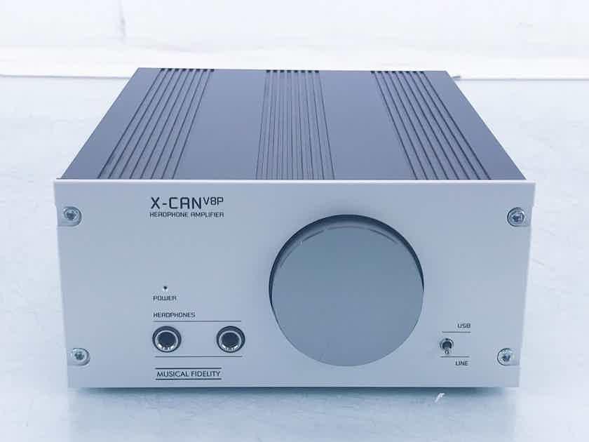 Musical Fidelity X-CAN V8P Hybrid Tube Headphone Amplifier XCANV8P (16336)