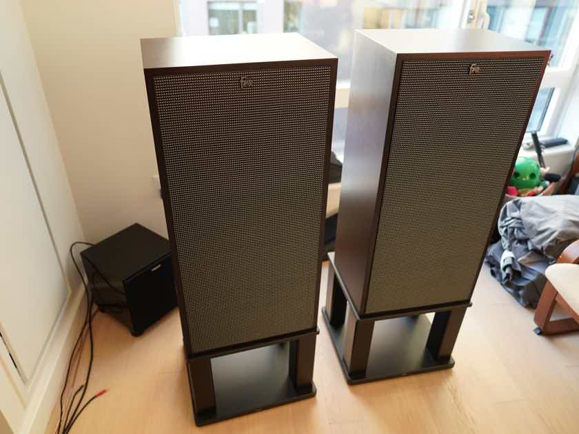 Klipsch Forte III (Mk3) PAIR, Special Edition EBONY, 3 Mths Old, Shipping to US