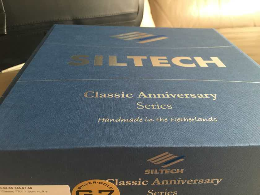 Siltech Cables Classic 770i Balanced XLR 1.5m  Never Used!!