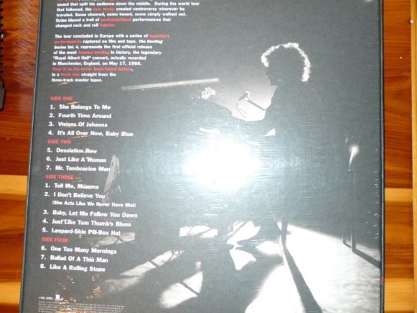 Bob Dylan - Live 1966 Classic Records original reissue 180G 1990's Sealed