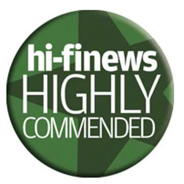 HiFi News Highly Recommended Award 2019