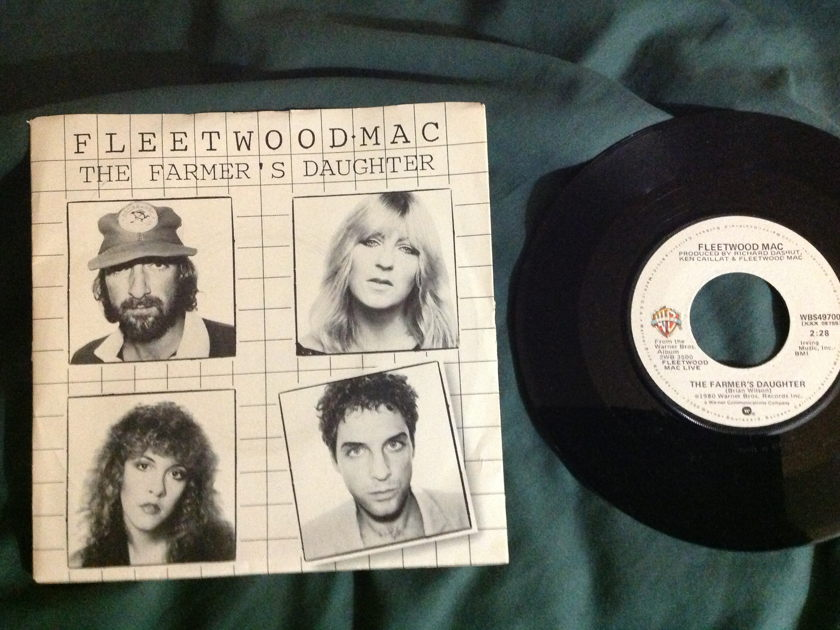 Fleetwood Mac - The Farmer's Daughter 45 With Sleeve