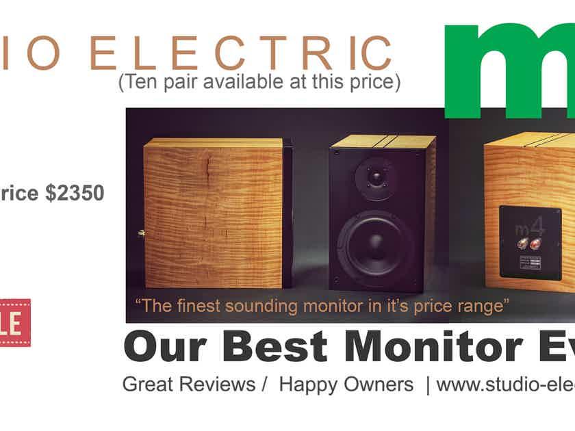 Studio Electric M4 Monitors