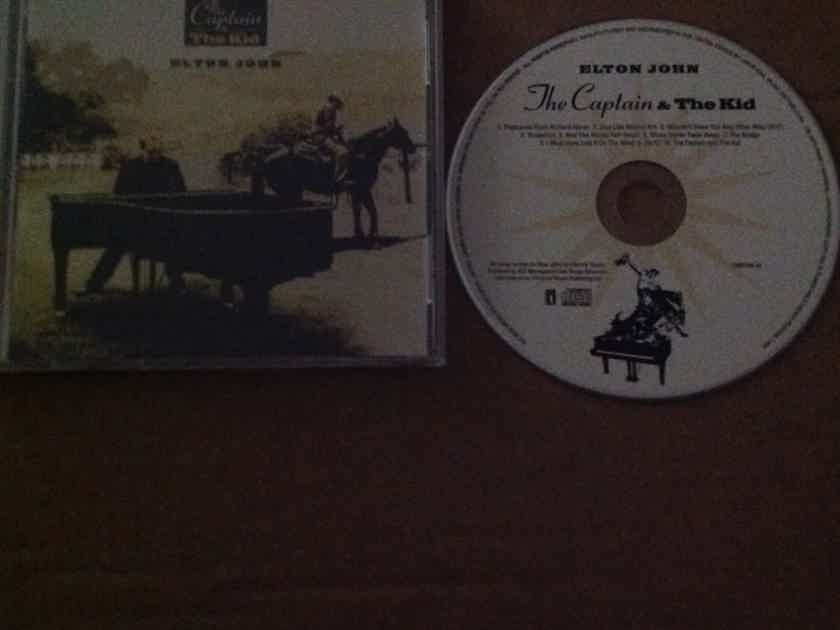 Elton John - The Captain & The Kid Interscope Records Compact Disc