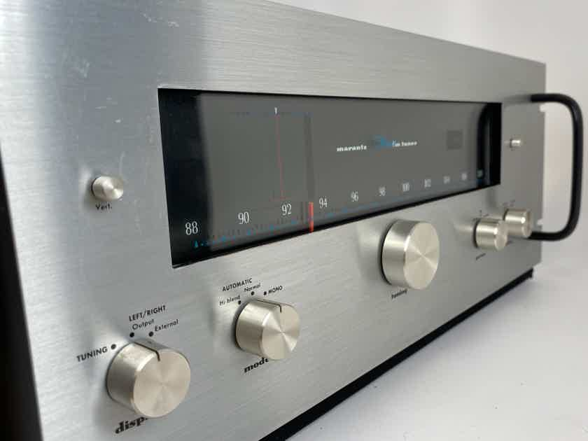 Marantz 10B Vintage Tube Tuner with RARE Rack Handles! Like New