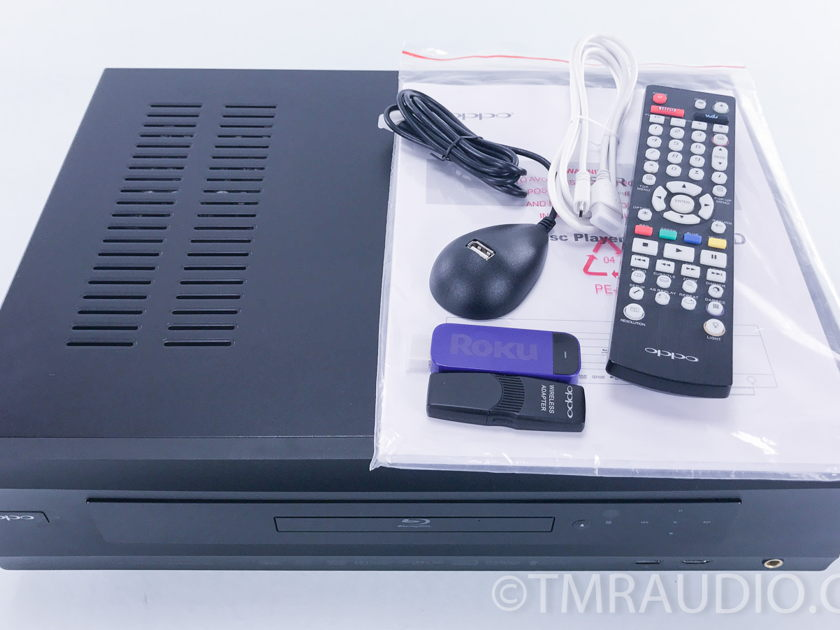 Oppo  BDP-105D 3D Blu-ray Player w/ Roku (3575)