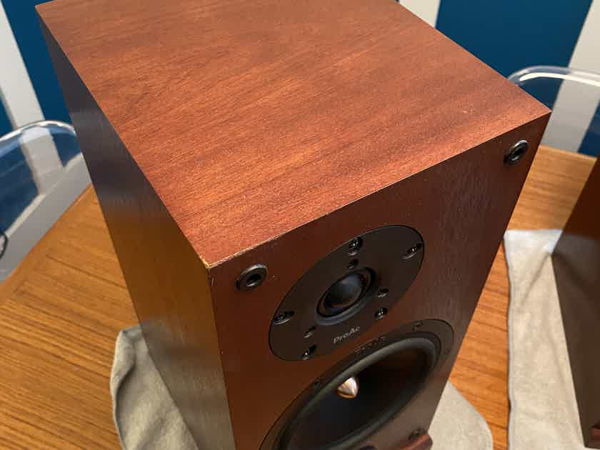 ProAc Response D-2 speakers, plus free Dynaudio stands