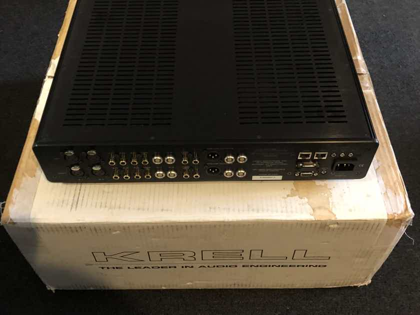 Krell Evolution 222 Black color preamp