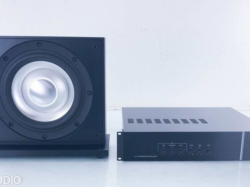 "Leon Aaros A10-UT 10"" Passive Subwoofer L3-1K Subwoofer Amplifier (14234)"
