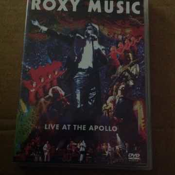 Roxy Music - Live At The Apollo DVD Region 1.