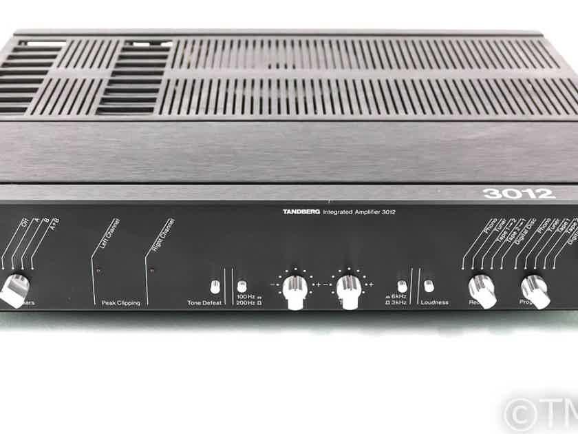 Tandberg Model 3012 Vintage Stereo Integrated Amplifier; MM / MC Phono (26705)
