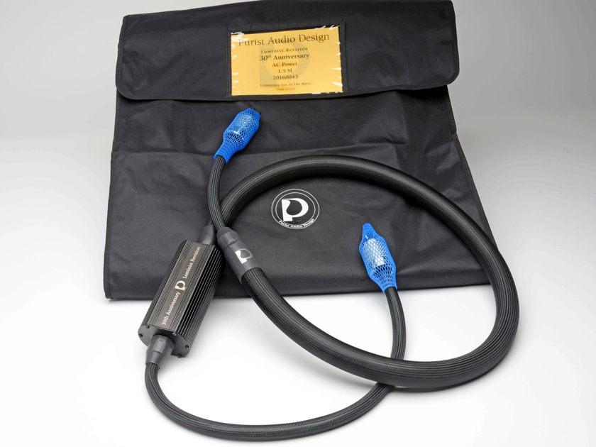 Purist Audio Design 30th Anniversary AC cable