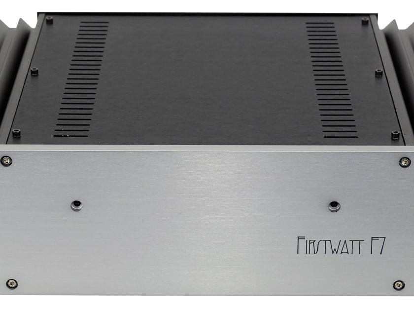 FIRST WATT / PASS LABS F7 Stereo Power Amp 120/240V FALL SALE at Reno Hi Fi