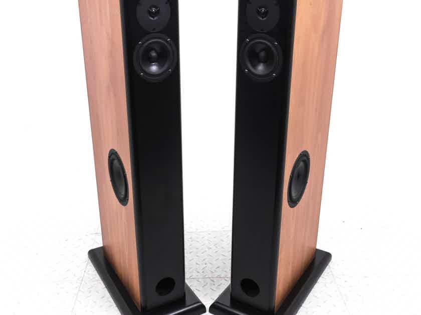 Audio Physic Virgo II Floorstanding Speakers; Cherry Pair; Virgo 2 (20664)