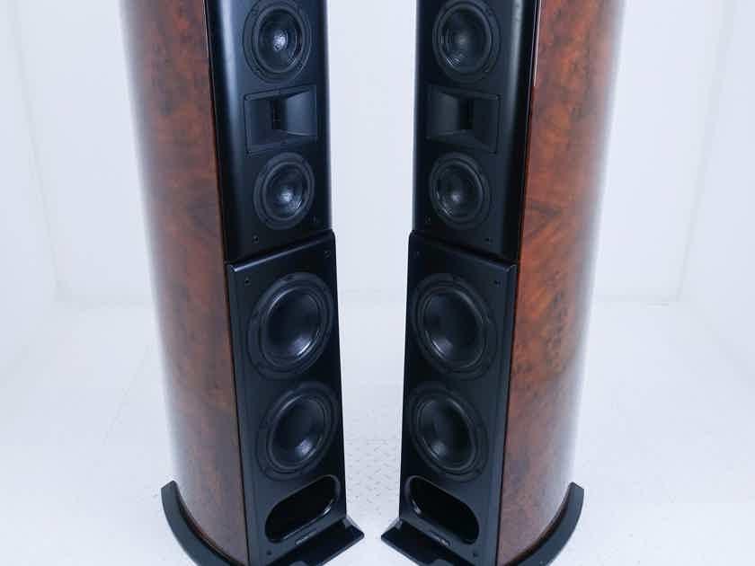 Acoustic Zen Crescendo Mk II Floorstanding Speakers Burled Walnut Pair; Mark 2 (16672)