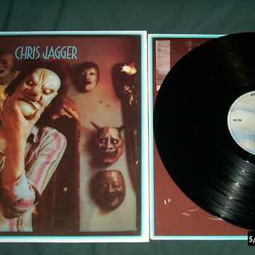 Chris Jagger - S/T Vinyl LP NM With Mick Jagger Asylum ...