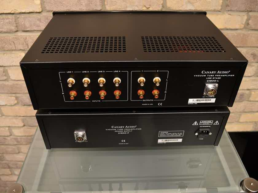 Canary Audio C1600 - Reference Flagship 2-Chassis Pre-Amplifier