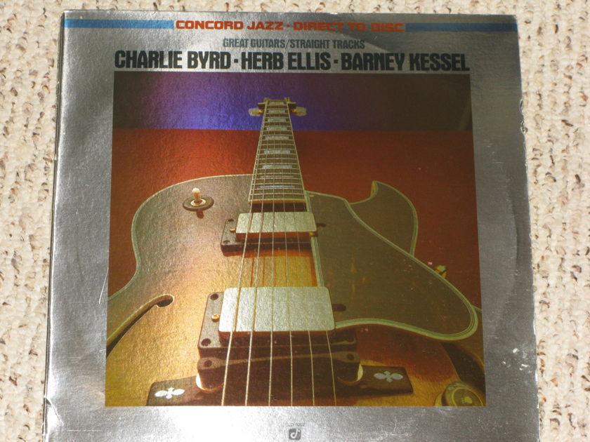 Charlie Byrd, Herb Ellis, Barney Kessel - Great Guitars/Straight Tracks Concord Jazz Direct to Disk