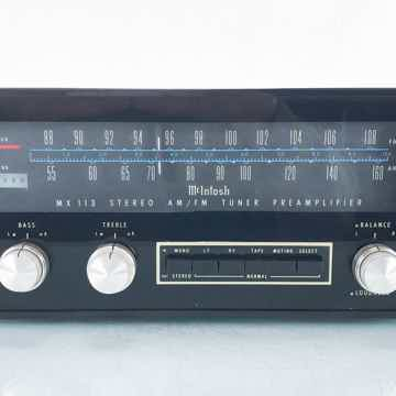 MX113 Vintage Stereo AM / FM Tuner
