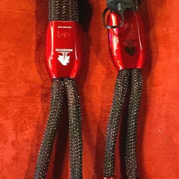 AudioQuest Redwood 8' pr NICE Spk cables