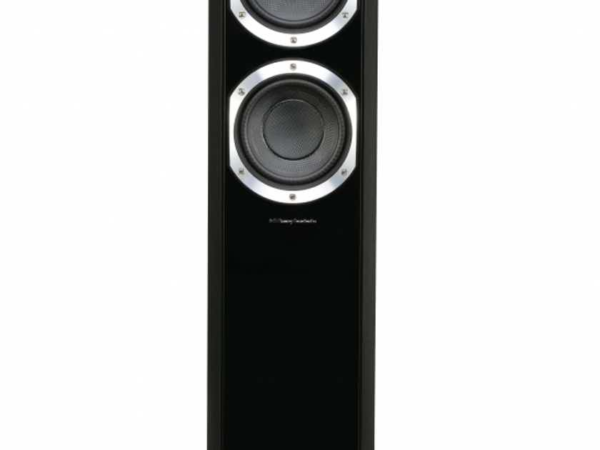 Wharfedale Diamond 10.4 floorstanding speakers, walnut