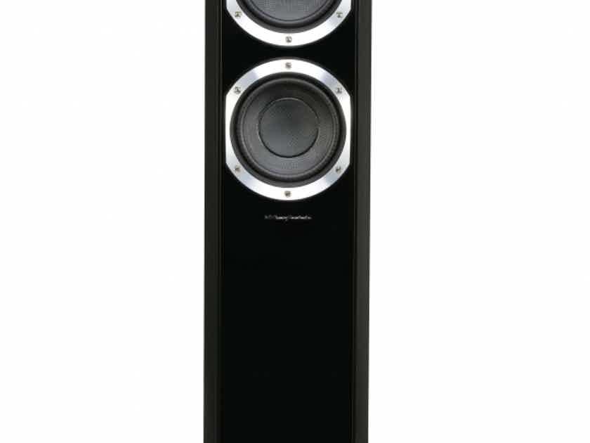 Wharfedale Diamond 10.4 floorstanding speakers, walnut