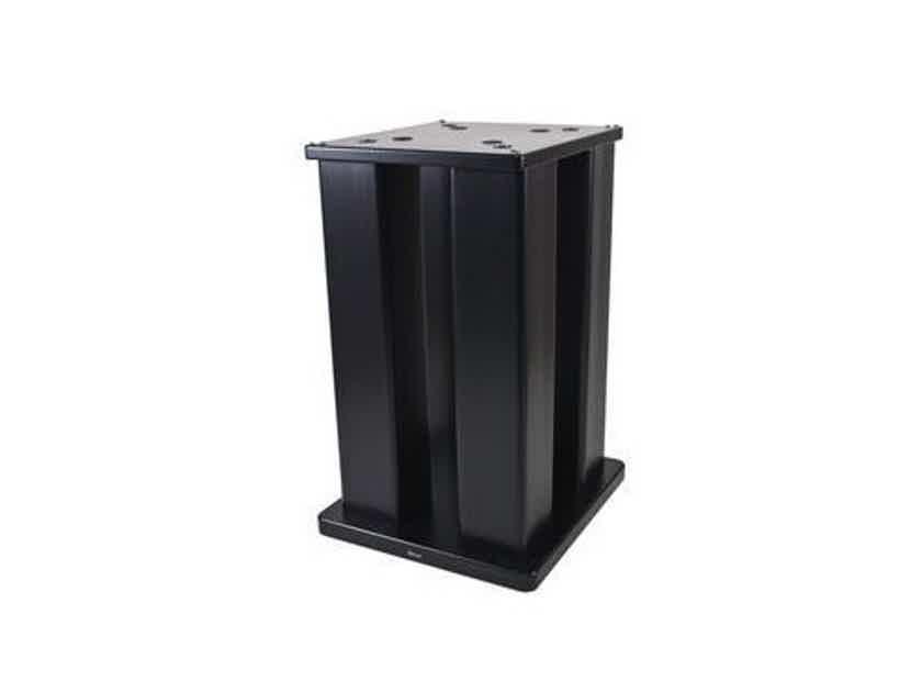 """Skylan SKY-4P24 24"""" KEF Ref 1 4-Post Speaker Stands Black Pair (New / Open Box) (16537)"""