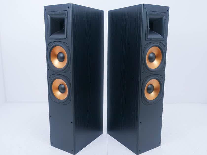 Klipsch RF3 Reference Series Floorstanding Speakers Black Pair; RF-3 (No Grills) (13515)