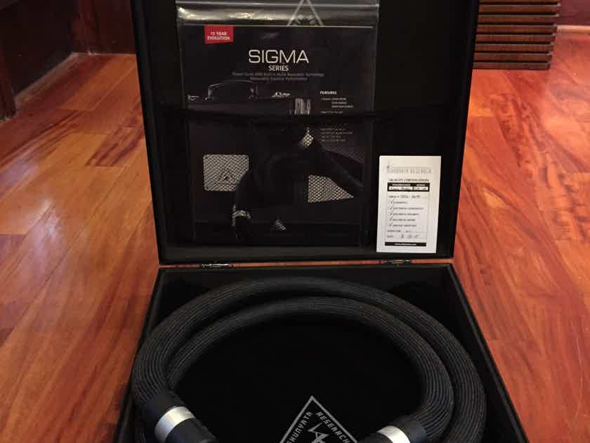 Shunyata Research Sigma Power Cables, 1.75 M, C19/20 amp, 3 available