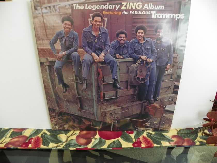 TRAMMPS - THE LEGENDARY ZING ALBUM Very Rare LP