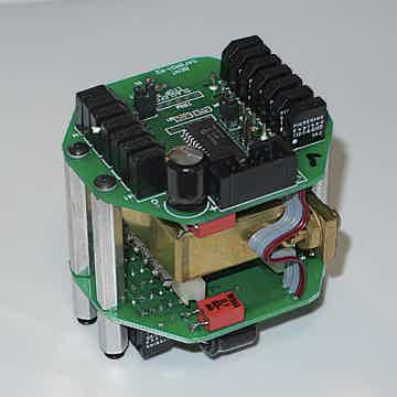 54-step transformer-coupled volume control