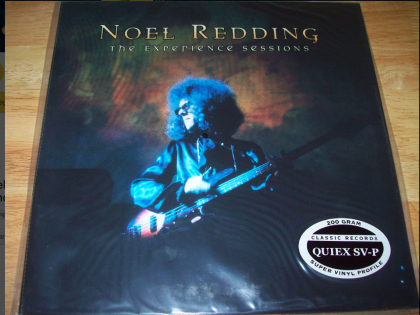 """Noel Redding - """"The Experience Sessions"""" - on 200G QUIEX SV-P From the Jimi Hendrix Experience - Sealed / New"""