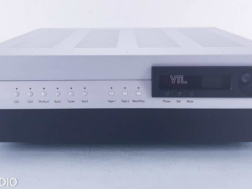 VTL TL-6.5 Signature Line Stage Stereo Preamplifier; Remote (10715)