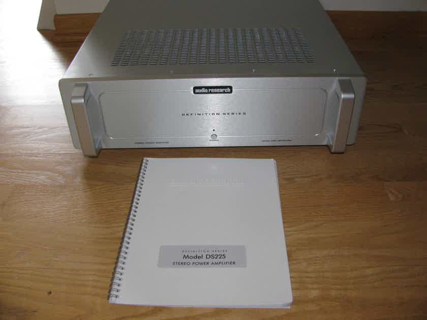 Audio Research DS225 Power Amp in Silver