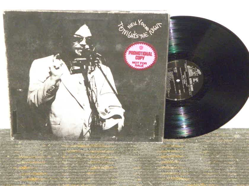 """Neil Young - """"Tonight's The Night""""  Reprise Black label """"Promo"""" w/Promo labels Reprise MS2221"""