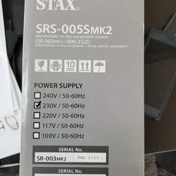 Stax SRS - 005s Mk2
