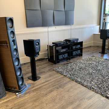 Dynaudio C1 - Platinum - Piano Black Finish w/ Stand6s ...
