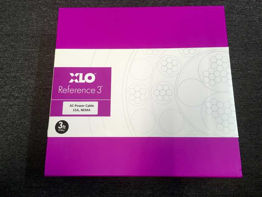 XLO Electric Reference 3 Demo Power Cord 3ft