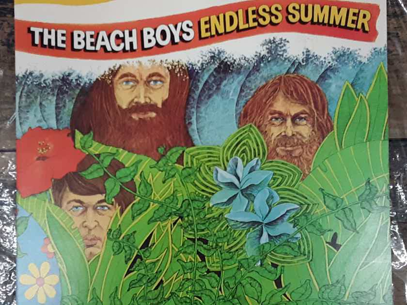 The Beach Boys - Endless Summer 1975 Reissue NM Double Vinyl LP Compilation Capitol Records SVBB-11307