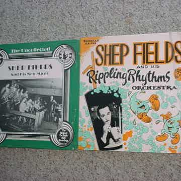 Big band jazz Shep Fields 2 lp records