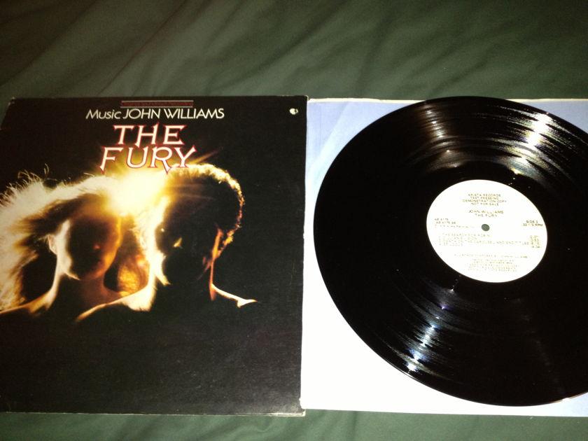 John Williams - The Fury Soundtrack Test Pressing  Arista Label LP NM
